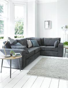 Image Result For Corner Sofa In Front Of Bay Window Corner Sofa Living Room Living Room Furniture Layout Living Room Corner
