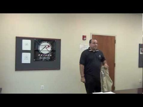 Ed Feliciano, Rothco Sales Manager Sales Presentation Sales - sales presentation