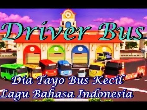 Baru 30 Gambar Mobil Kartun Warna Biru Lagu Dia Tayo Tayo The Little Bus Driver Bus Tayo The Download Kartun Animasi Panda Lucu Hd Film Anak Gambar Kartun