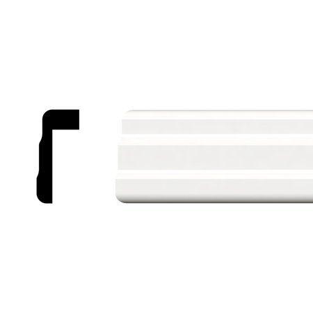 Instatrim 3 4 In X 1 2 In X 120 In White Pvc Inside Corner Self
