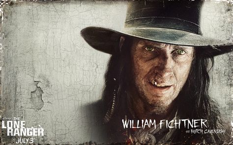 William Fichtner as Butch Cavendish – The Lone Ranger   Live HD Wallpapers