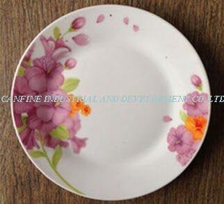 Gambar Bunga Yang Cantik Dan Bagus Keramik Yang Indah Dilapisi Datar Cantik Percetakan Dessert Piring Dengan Bagus De Menggambar Bunga Bunga Peralatan Makan