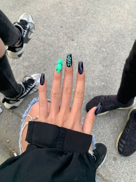 Nail decals are just the best 🥰