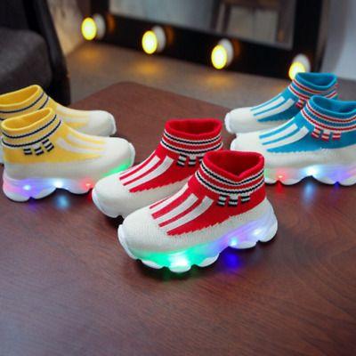 Sponsored Ebay Zapatos Deportivos Para Niños Niñas Tenis Con Luces Zapatillas Comodas 3 6 Años Sapato Infantil Menina Sapato Infantil Sapatos