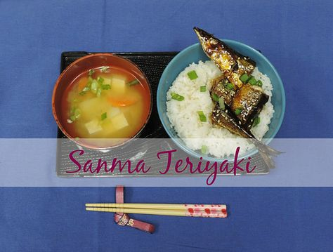 Fun, Healthy and Delicious Dinner - Sanma Teriyaki for #WeekdaySupper