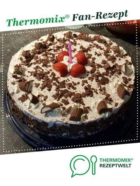 Variation Von Yogurette Torte Ohne Gelatine Rezept Yogurette Torte Yogurette Torte Ohne Backen Thermomix Rezepte Kuchen