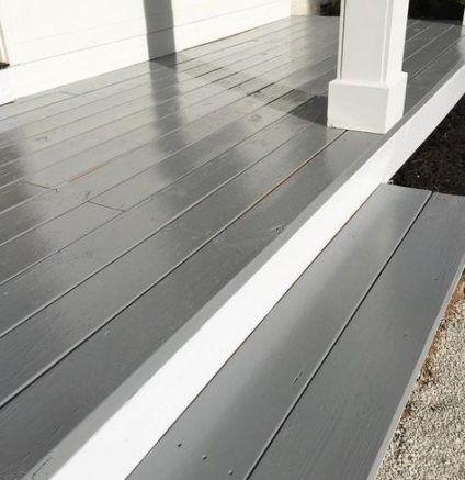House Exterior Paint Gray Front Porches 61 Best Ideas Painted Front Porches Porch Paint Porch Colors