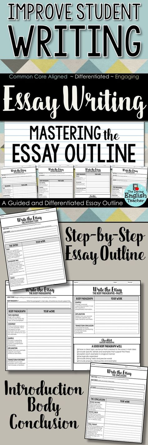 essay outline middle school students Five-paragraph essay is a standard example for the educational institutions like high schools and colleges a student has to ensure the relevance of anyway, you need to make an outline and start memorizing how a five-paragraph essay should look like as it is the most common structure of any.