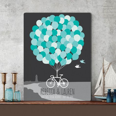 A modern spin on a traditional concept, this wedding guestbook is a beautiful piece of art which also serves as a memorable keepsake of your special day #paperramma