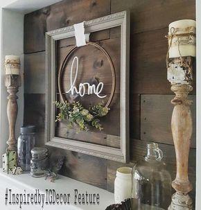So Many Creative Ways To Use Old Frames Scheduled Via Http Www Tailwindapp Com Utm Source Pinterest Utm Medium Decor Farmhouse Wall Decor Farmhouse Decor
