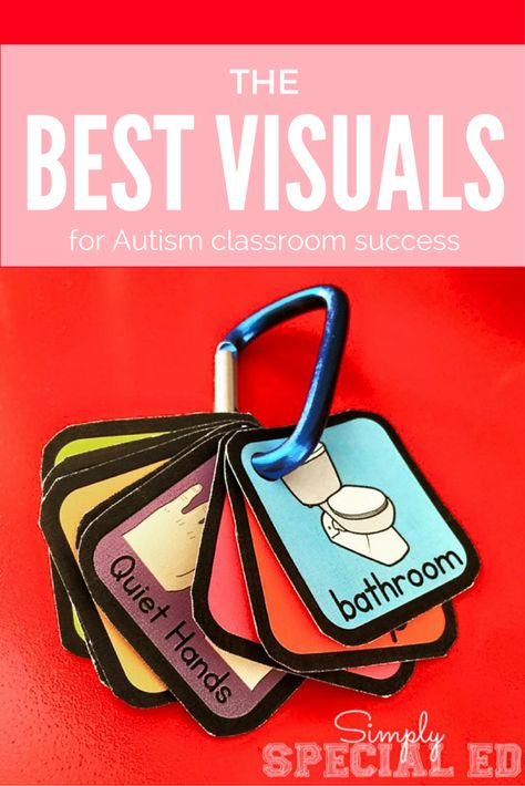 The best Autism behavior visuals to make your Autism Classroom run smoothly!