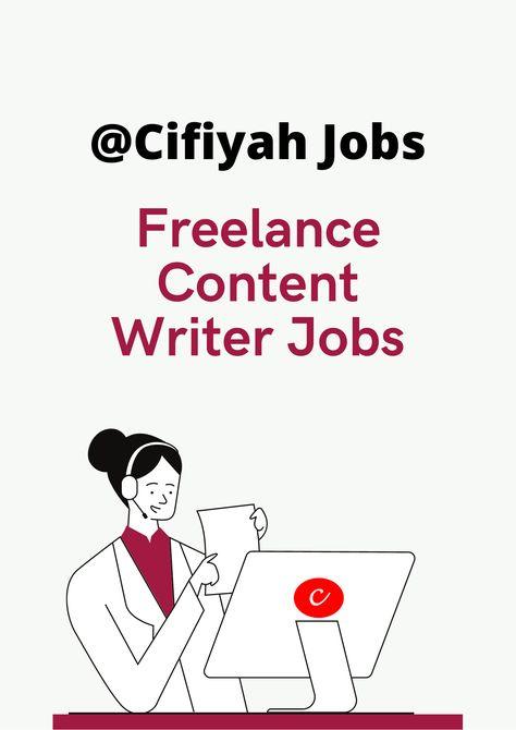 Freelance Content Writer Jobs for Fresher