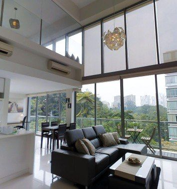 Loft Apartment One North Plus Category Singapore Studio Apartment Floor Plans Bedroom Apartment Apartments For Rent