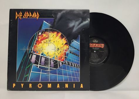 Def Leppard Pyromania 12 Quot Vinyl Record Album Lp Vinyl Record Album Vinyl Records Def Leppard
