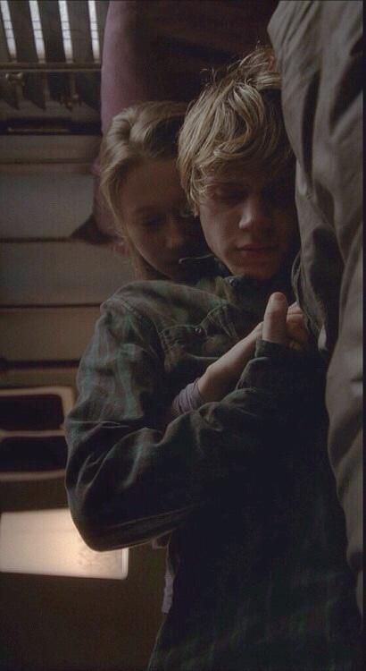 ahs, american horror story, and evan peters image Evan Peters, Cute Relationship Goals, Cute Relationships, Tate Ahs, Noora And William, Tate And Violet, Memes, Teen Romance, Photocollage
