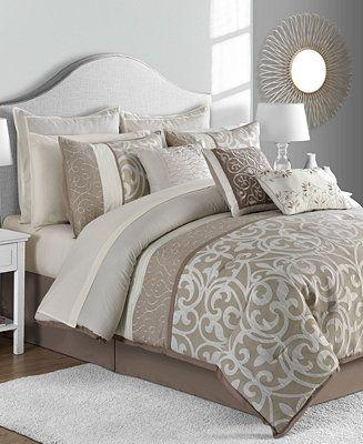 Shop Sunham Montauk 14 Pc Comforter Sets Online At Macys Com Effortlessly Elevate Any Room S Decor With The C Comforter Sets Bedding Sets King Comforter Sets Elegant king size comforter sets