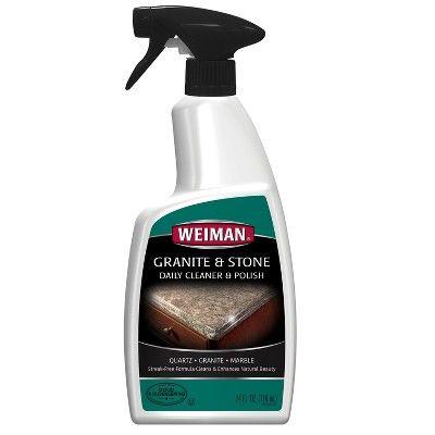 Weiman Granite Cleaner And Polish Spray 24oz Granite Cleaner