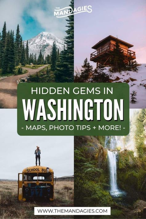 Discover ALL the best things to do in Washington state here! We're covering all corners of the state, you'll want to read this before your next adventure! Places To Go In Washington State, Camping In Washington State, Spokane Washington, George Washington, North Cascades National Park, Mount Rainier National Park, Washington Nationals Park, Destinations, To Infinity And Beyond