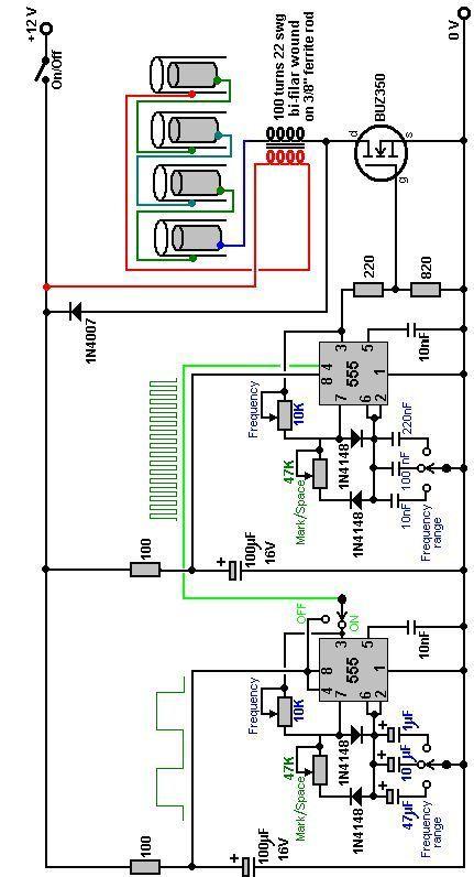 Stanley Meyer Dual 555 Mosfet Buz 350 Schematic Free Energy Generator Hydrogen Generator Free Energy