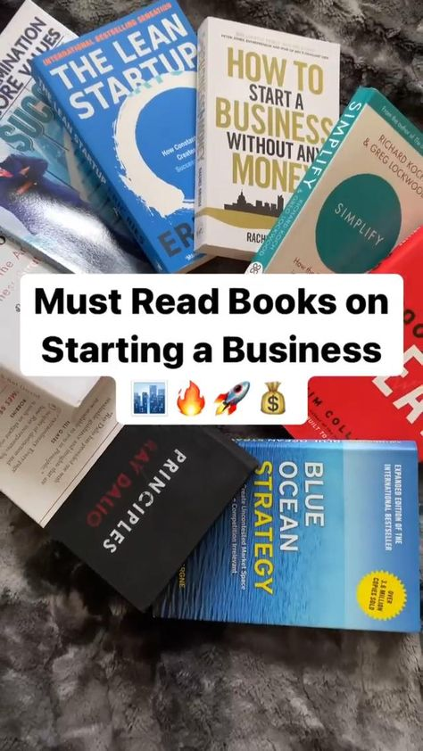 must read books on strating a business