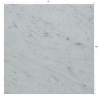 12x12 Carrara White Marble Tile Polished In 2020 White Marble White Marble Tiles Tiles Price