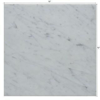 12x12 Carrara White Marble Tile Polished In 2020 White Marble White Marble Tiles Tiles Price