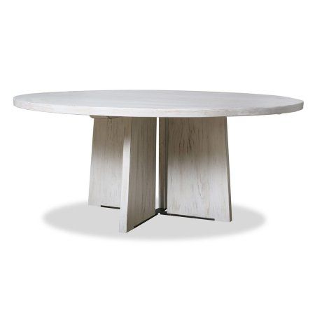Home With Images Reclaimed Wood Round Dining Table Round