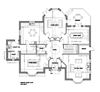 modern design home plans. floor plan design with dimension  Google Search saleem Pinterest House layouts Interiors and