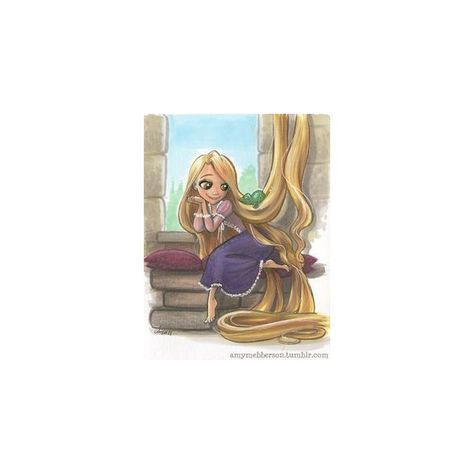 DPs For a New Century ❤ liked on Polyvore featuring disney and tangled