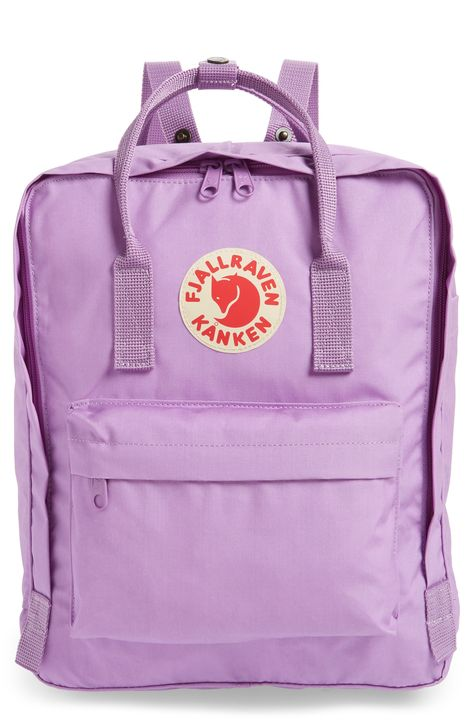 Fjällräven Kånken Water Resistant Backpack - Purple