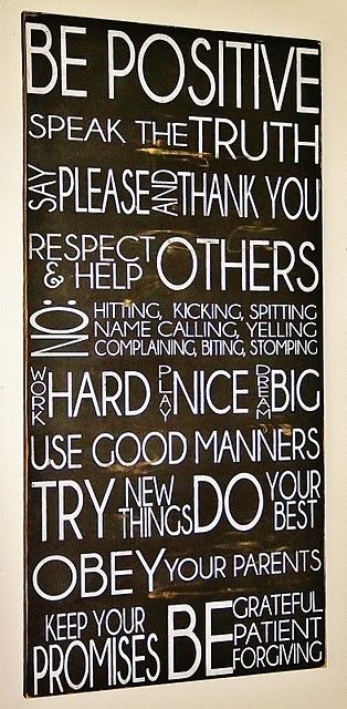 Make a house rules sign...  First, agree on what the house rules are. ;)