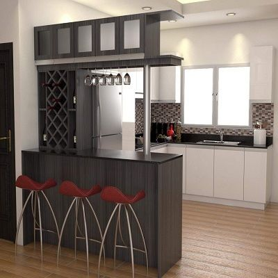 Kitchen Cabinet With Bar Counter NATALIE KITCHEN CABI A Matt finish with bar counter type of