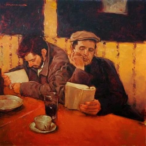 Joseph Lorusso (American, b. 1966) - The Readers