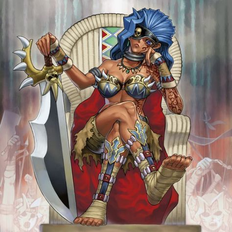 Amazoness Queen, amazoness queen + french database id