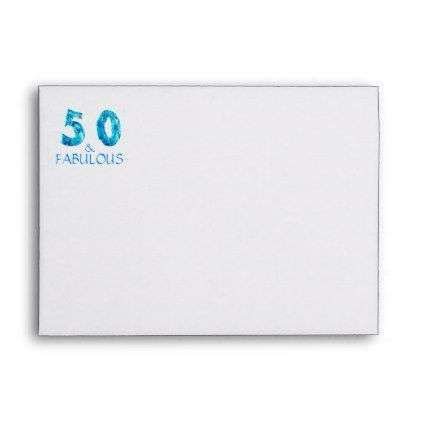 50 fabulous 50th birthday return address print envelope cyo 50 fabulous 50th birthday return address print envelope cyo customize design idea do solutioingenieria Choice Image