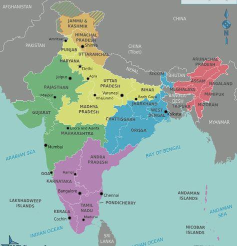 India-Travel-Map.png 700×729 pixels