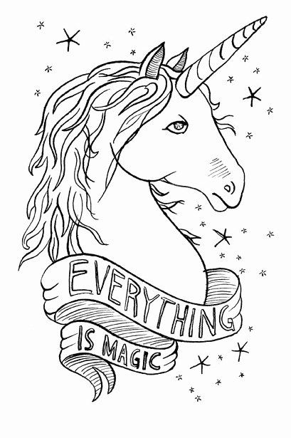 Magic Marker Coloring Book Beautiful Coloring Magic Coloring Pages Magic Colouring Pages Magic Unicorn Coloring Pages Unicorn Illustration Unicorn Drawing