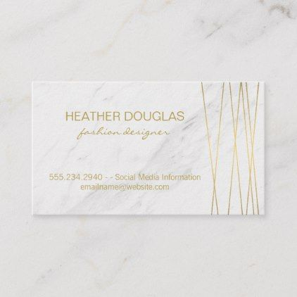 Gold Lux Modern With Marble Business Card Zazzle Com Business Cards Spa Gifts Diy Cards
