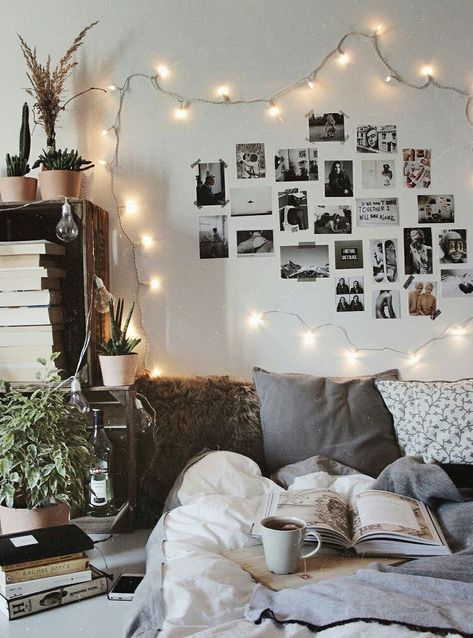 Interior Bedroom Bedroom Inspo Firefly Lights Modern Design Interior Design Diy Minimalist Scandinavian De Dorm Room Decor Cute Dorm Rooms Room Decor