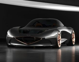 Genesis Essentia Concept Car All Electric High Performance Vehicle With Images Hyundai Genesis Concept Cars New Sports Cars