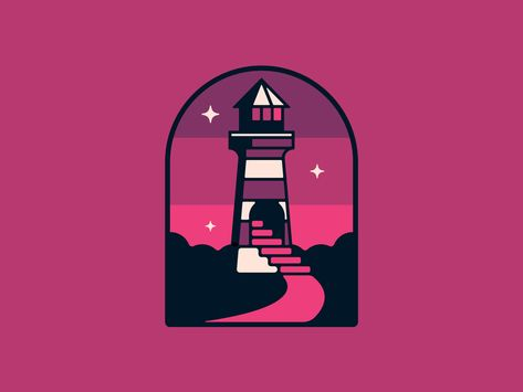 Lavender Lighthouse