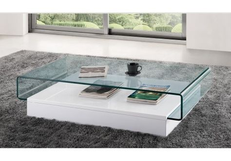 table basse design en verre danae   miscellaneous   pinterest