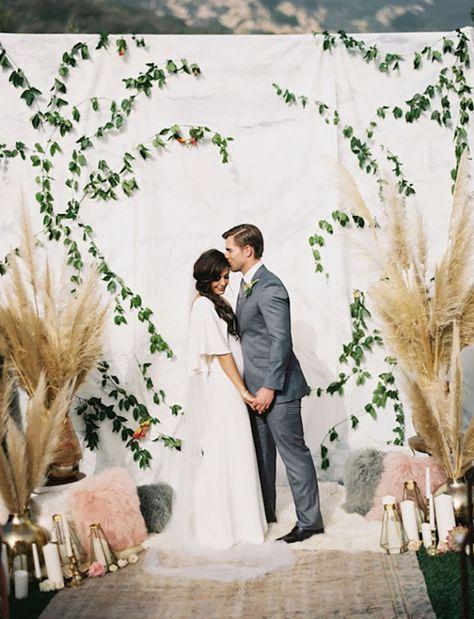 Matrimonio O Que é : Inspirações de backdrop para arrasar na decoração do casamento