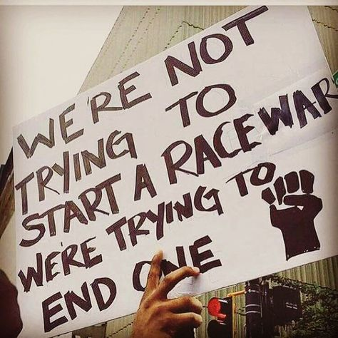 End a Race War