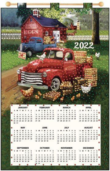 Maxim 2022 Calendar.Egg Barn 2022 Felt Calendar Garden Crafts Calendar Kit Felt