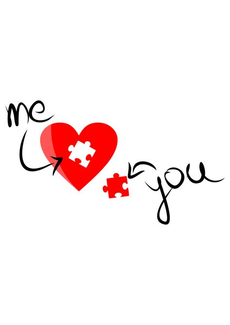 The post Me You Heart Puzzle Valentine's Day Free SVG File appeared first on SvgHeart.com.