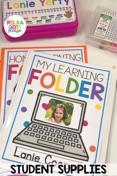 Distance Learning Individual Student Supplies