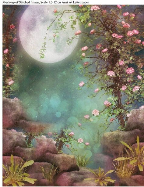 Cherry Blossom Moon Single Color image 3