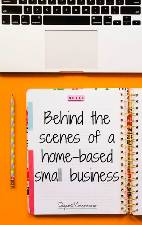 Vlogging: Behind the scenes of a home-based small business - Sagan Morrow