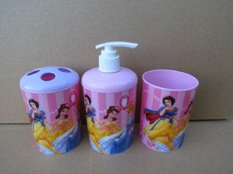 Disney Princess 3 Piece Bathroom